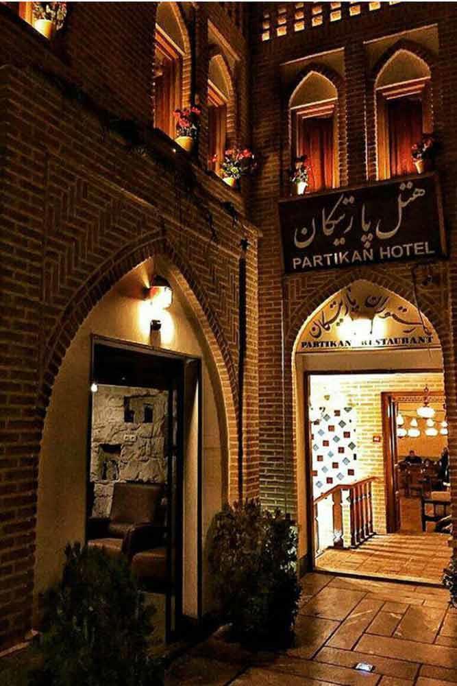 Partikan Hotel in Isfahan