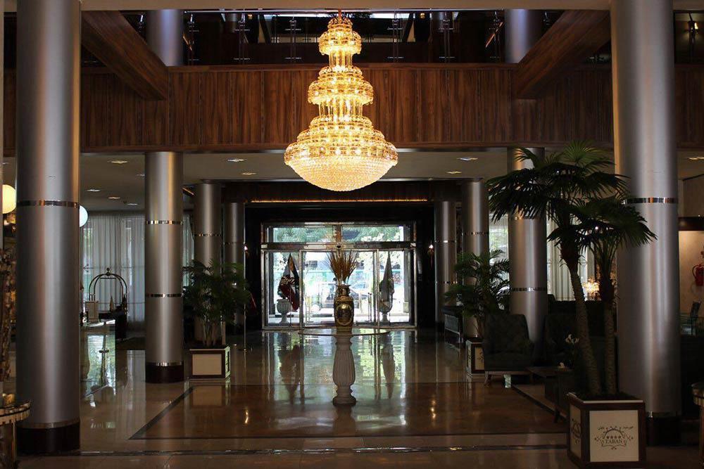 Khorshid Taban Hotel in Mashhad