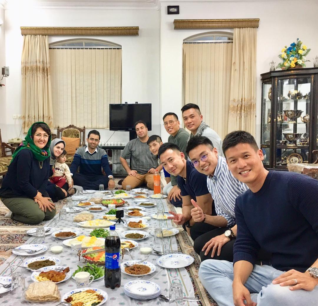 Family Dinner/ Lunch at Zoroastrian House