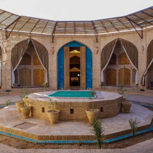 Zeinodin-Caravanserai-in Yazd.Iran tour.Iran Hotel