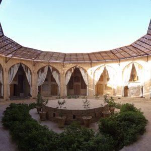 zeinoldin carvansaray in Yazd.iran tour
