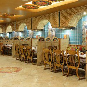 traditionalrestaurantof setaregan hotel shiraz