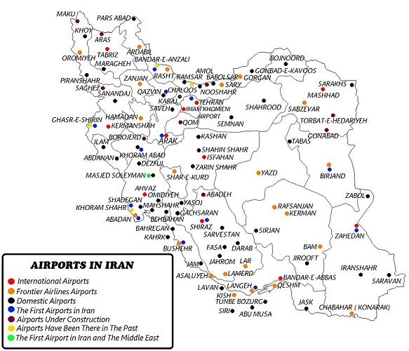 airports_in_iran