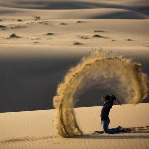 IRAN: Il DESERTO LUT /  stelle del deserto e solitudine