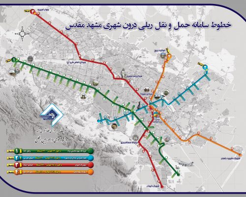 Mashhad Map (English)