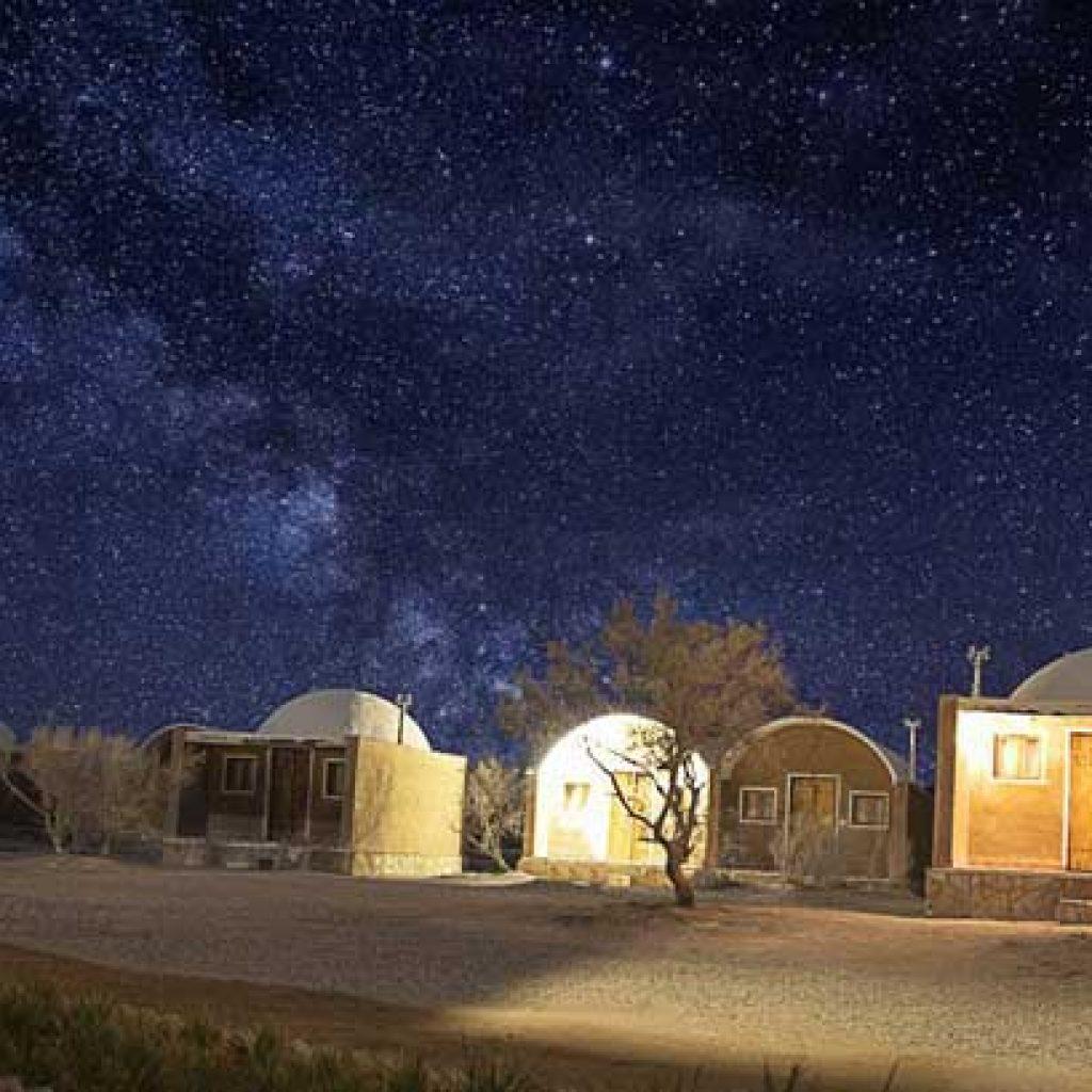 Matinabad desert camp near Kashan