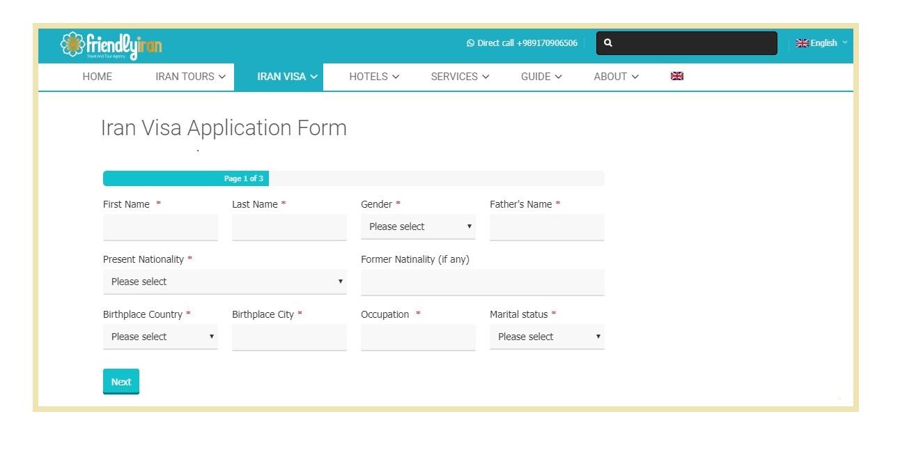iran-visa-application-form Iran Visa Application Form For Desh on