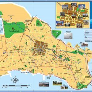 Tabriz - Iran Map