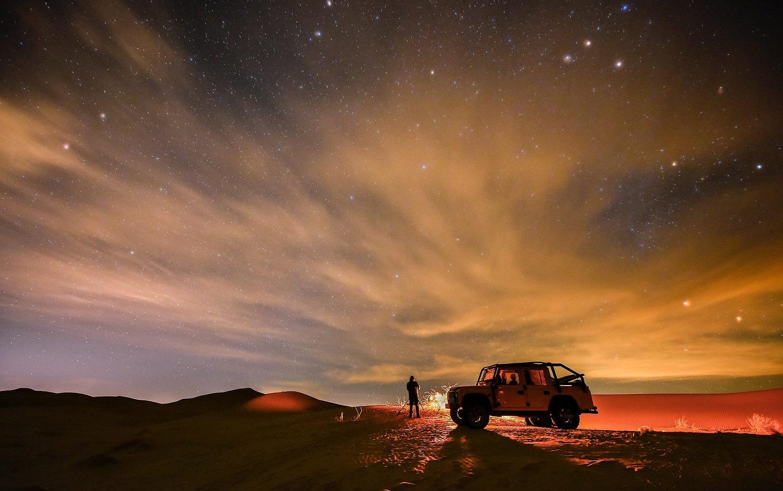 1° giorno: Kashan - Maranjab   Wow: passare una notte nel deserto a guardare le stelle