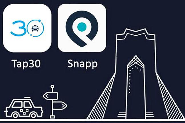 snapp-tap30-iran-transportation