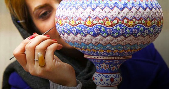 Know-how Persian Enamels are made