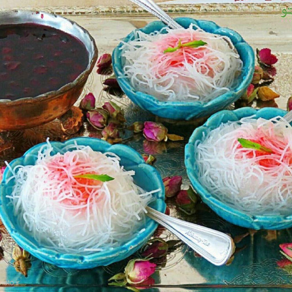 Iranian famous desserts