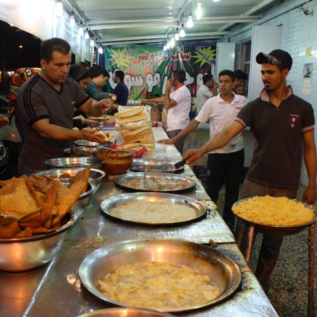 Iran famous street foods