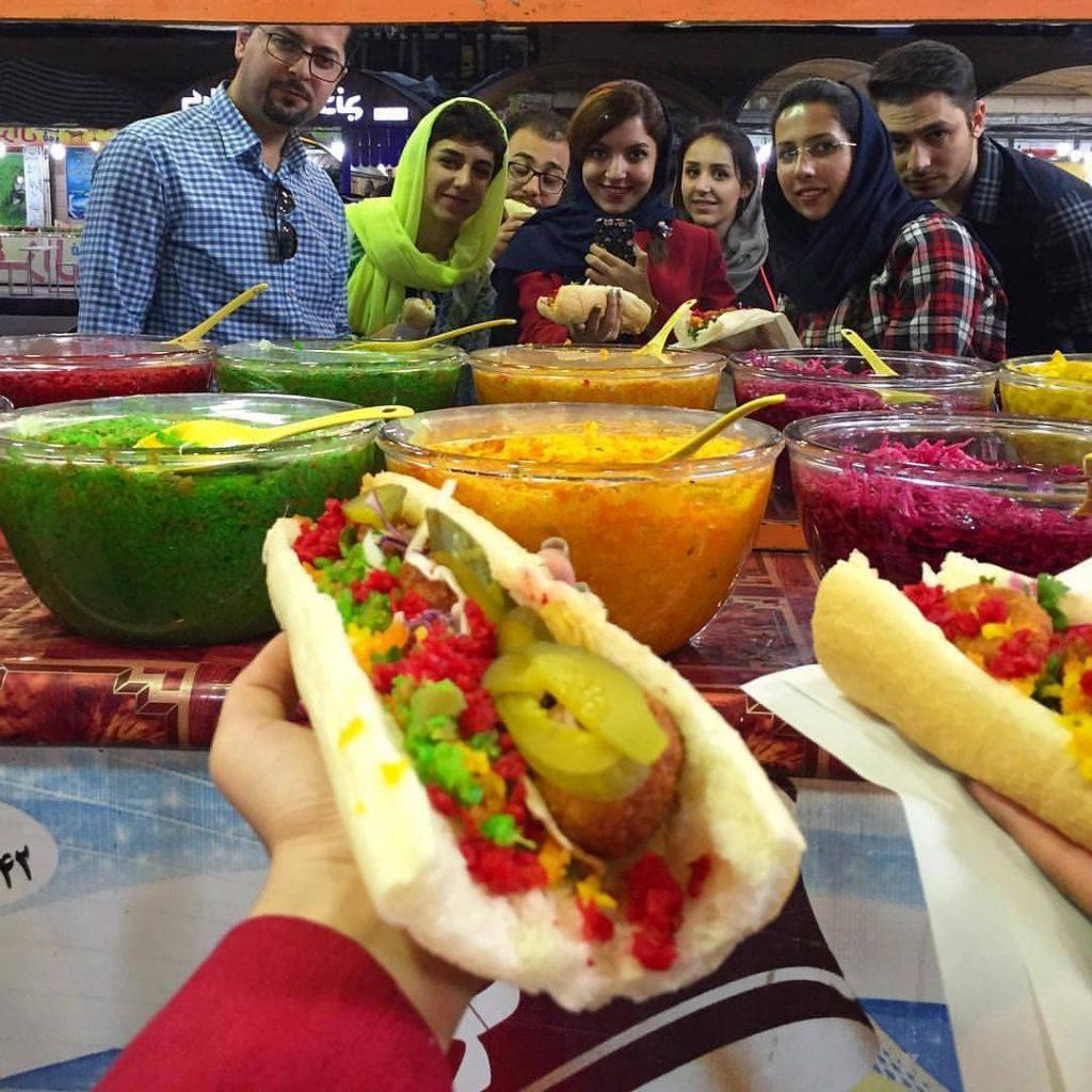 famous Iran street foods