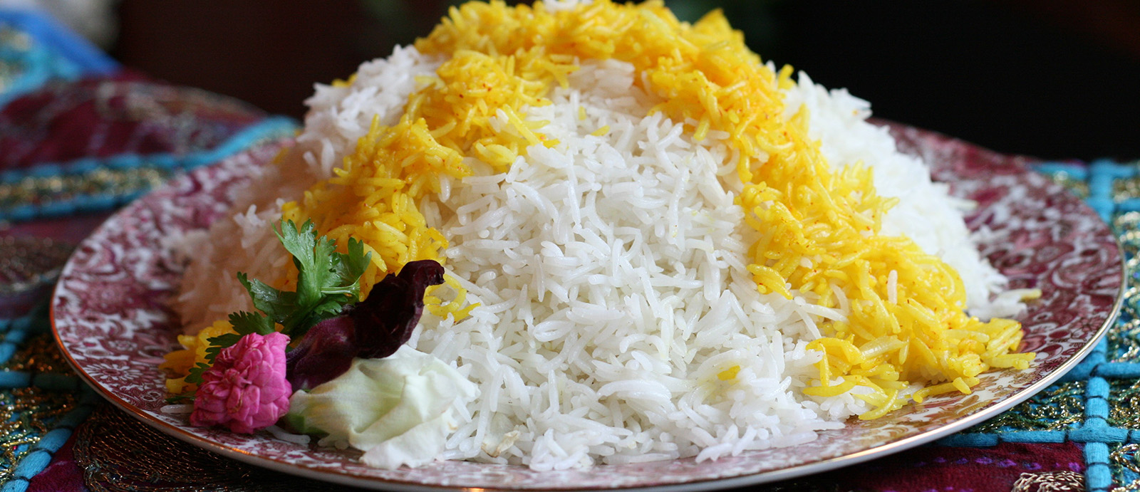how important is Persian rice for people?