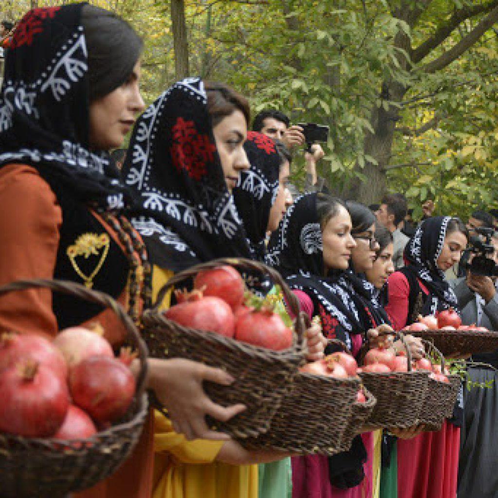 pomegranate-festival in Iran