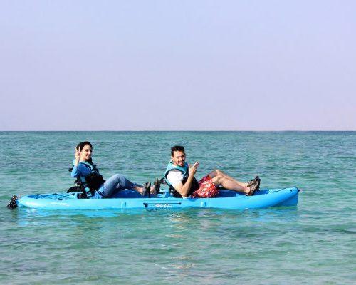 Kayaking in Kish Island