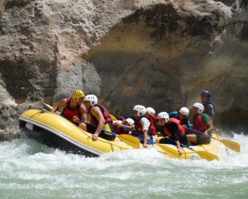 rafting in Iran rivers with certified guides