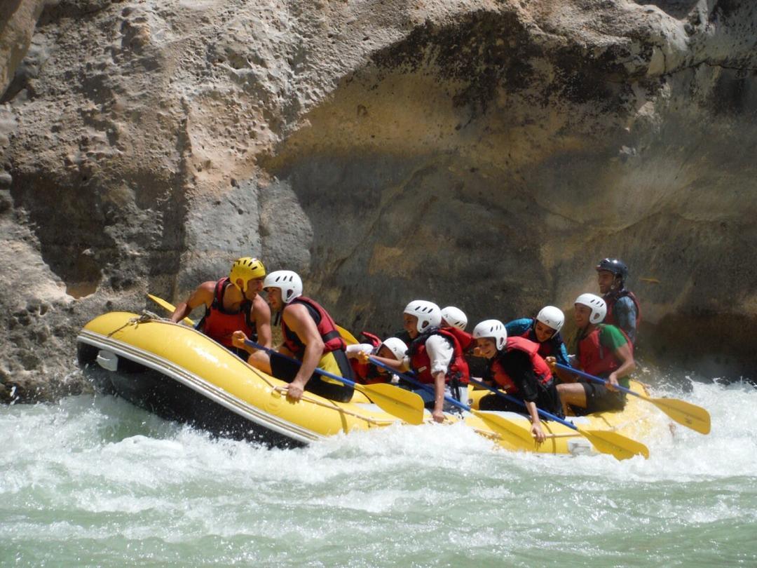 Day 2 : Rafting Day