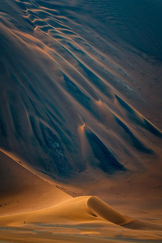 Giorno 5: Meravigliose dune di sabbia a forma di stella