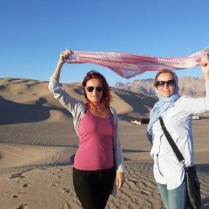 solo female in Iran