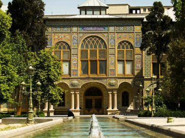 Iran tour.Tehran.Golestan Palace