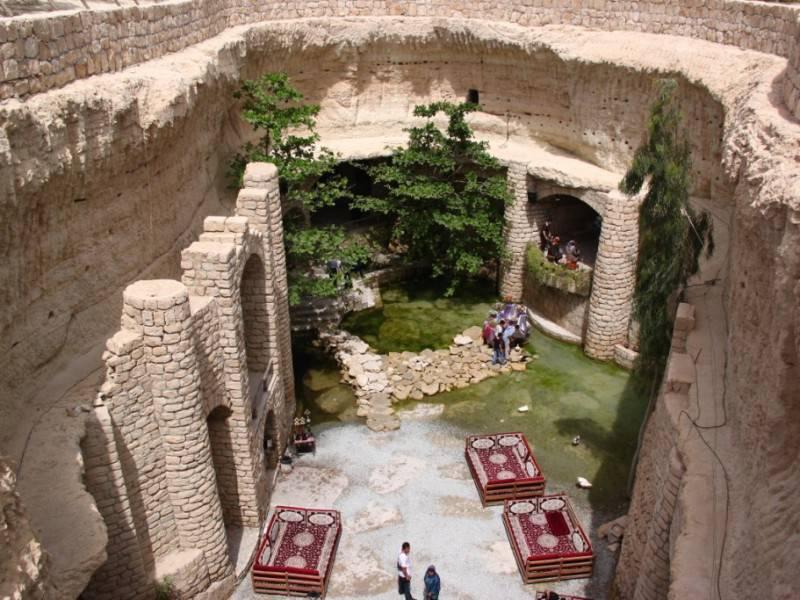 Iran tour.Iran blog.Underground city.Kariz