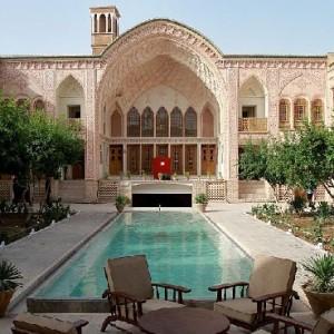 .Ameriha Housetraditional house of Iran.