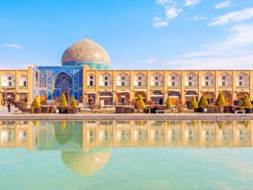 Iran tour.Highlights of Iran.Isfahan.Imam square.Iran