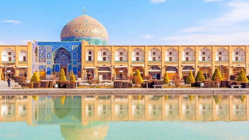 Iran tour.Highlights of Iran.Isfahan.Imam square.Iran