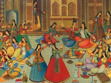 Iranian Art.Iran tour .Isfahan