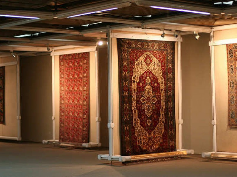 carpet museum in Tehran
