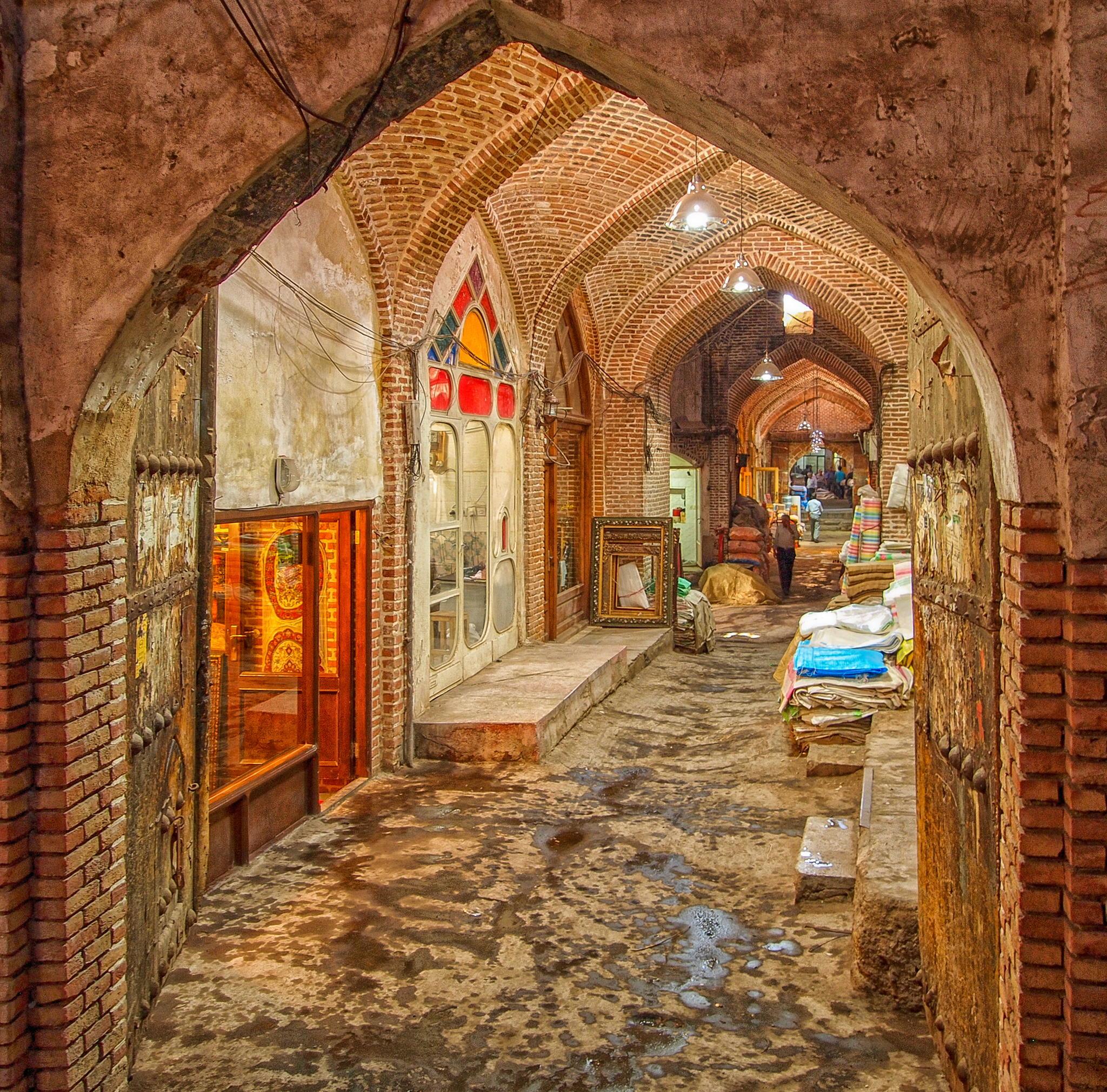 Iranian Bazaar Friendly Iran