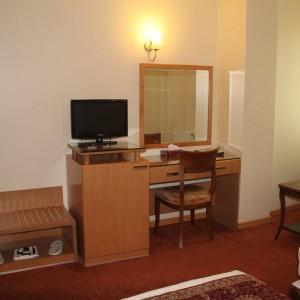 saina hotel room'